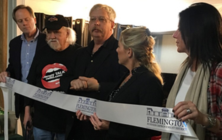 New Internet Radio/TV Station In Flemington Has Ribbon Cutting and Grand Opening